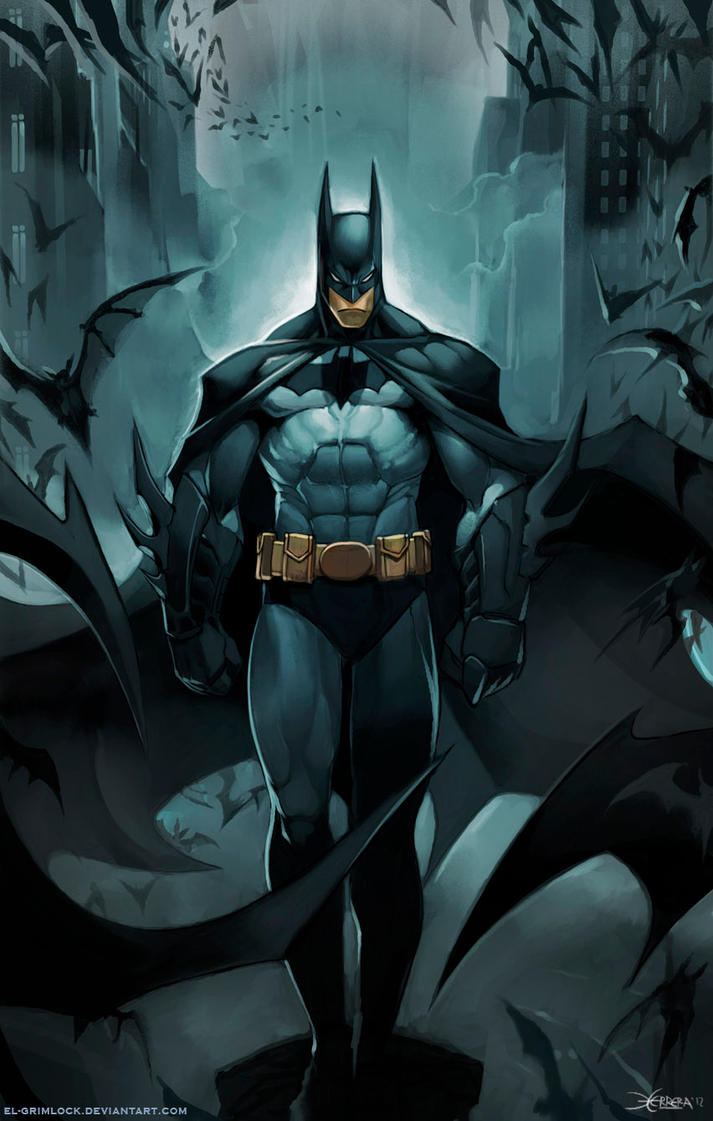 Batman by el-grimlock