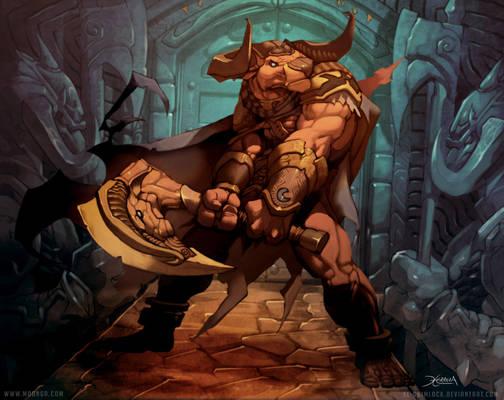 Minotaur Guardian