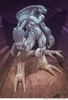 Stone warrior by el-grimlock