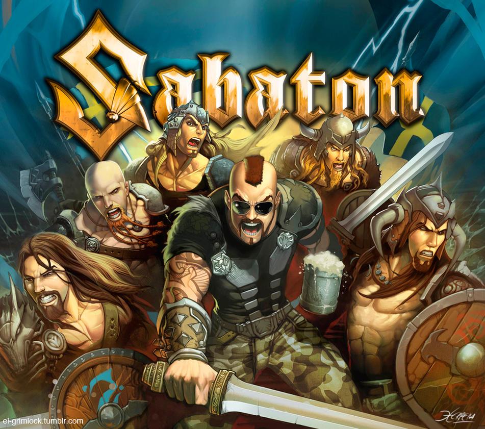 SABATON by el-grimlock