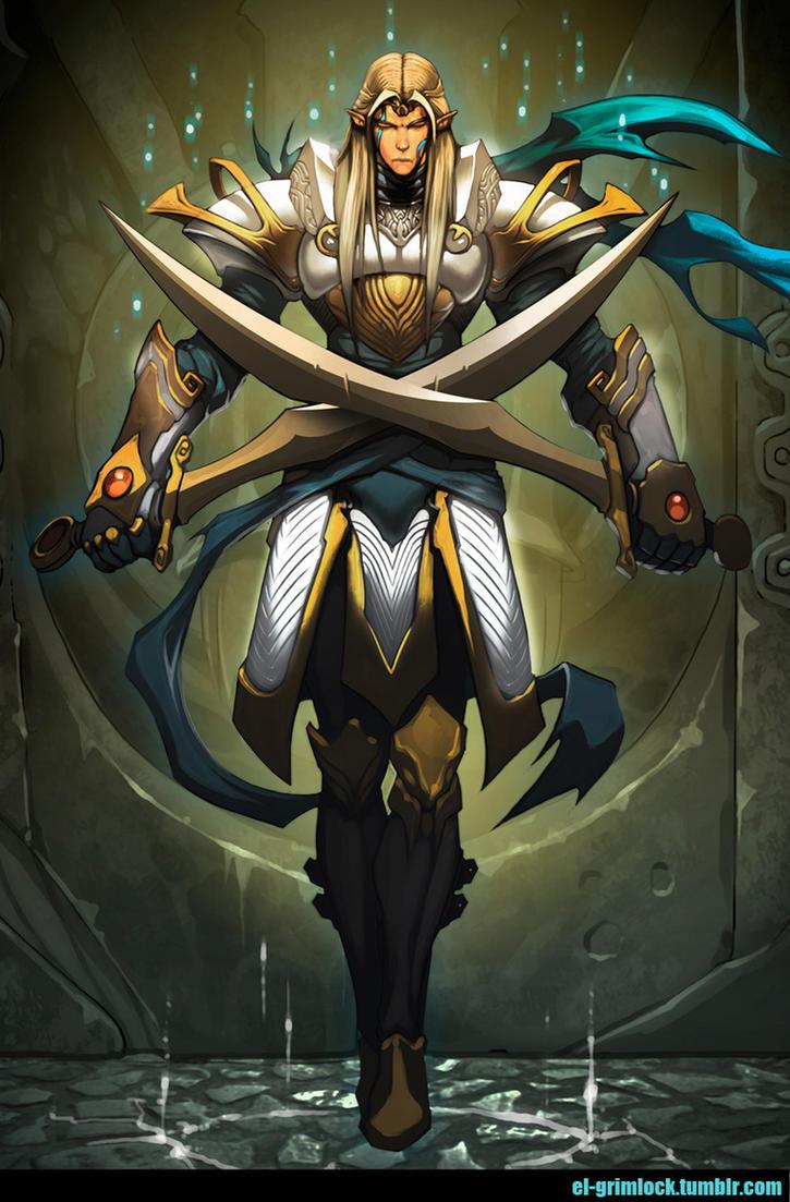 Luminous Guardian by el-grimlock