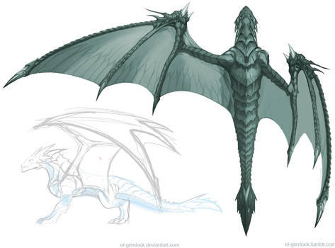 Dragon concept 3 : Wing