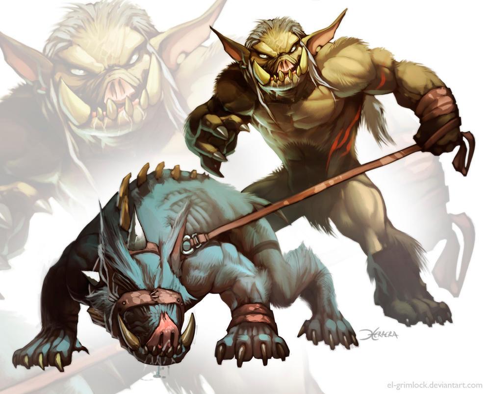 Troll Hound by el-grimlock