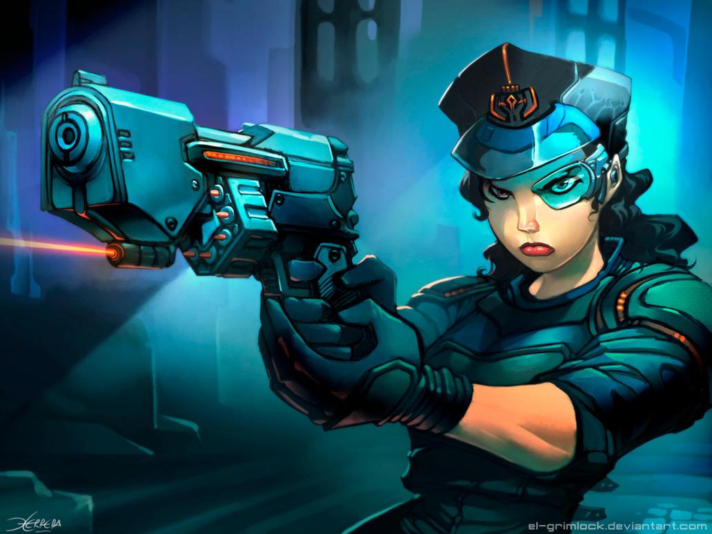 Flechette Pistol by el-grimlock