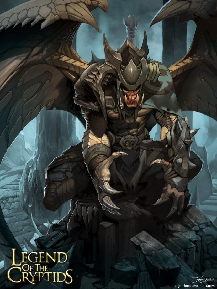 Abyssal Warden by el-grimlock