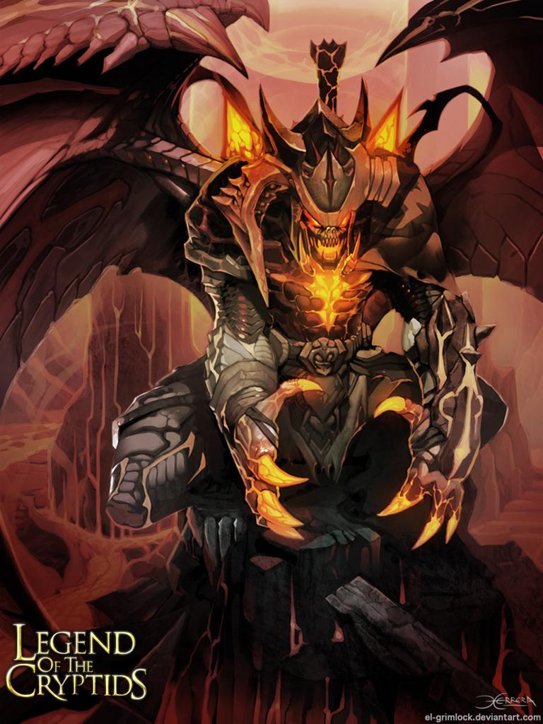 Abyssal Warden Advanced. by el-grimlock