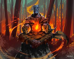 Coal man by el-grimlock