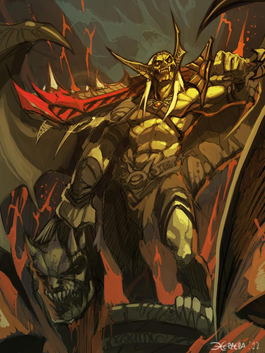 Vampire King WIP by el-grimlock
