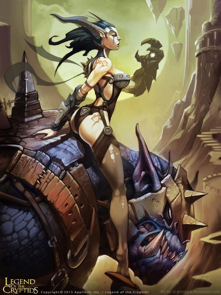Demona by el-grimlock