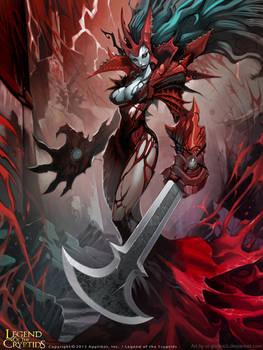 Crimson Queen advanced.