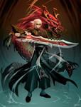 Crimson Legends : A man called Hero.