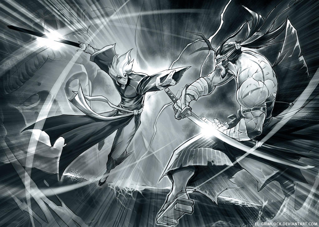 Galeria de Arte: Ficção & Fantasia 1 - Página 2 Hero_vs_invincible_by_el_grimlock-d69fn9j