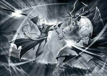 Hero vs Invincible by el-grimlock