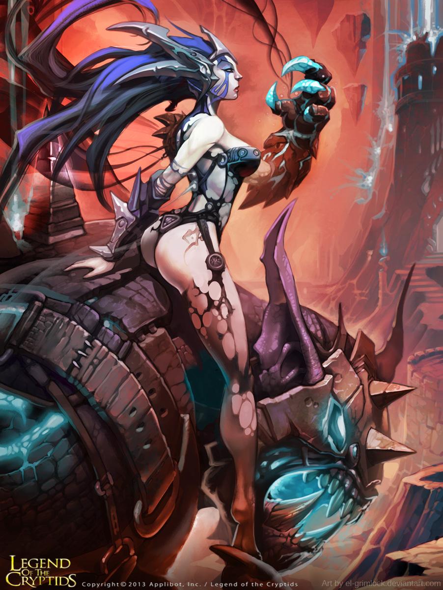 Demona advanced by el-grimlock