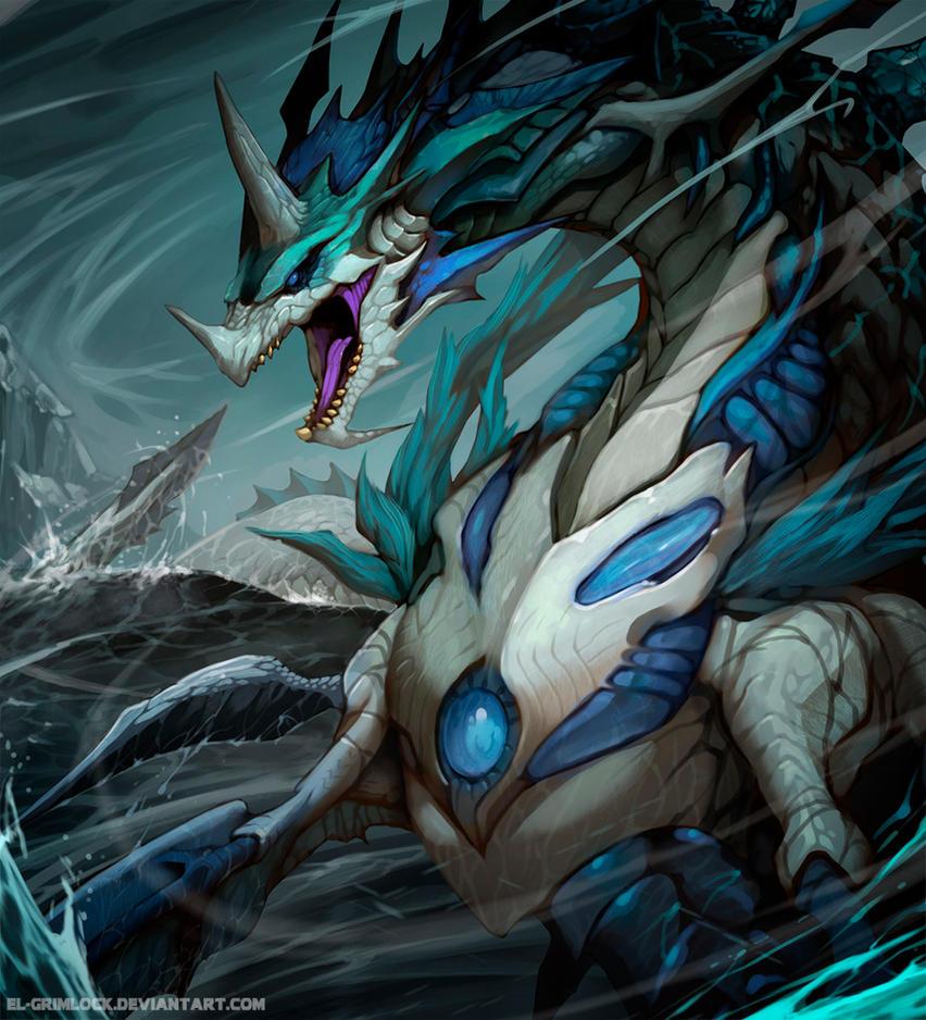 Oceanic Dragon advanced by el-grimlock