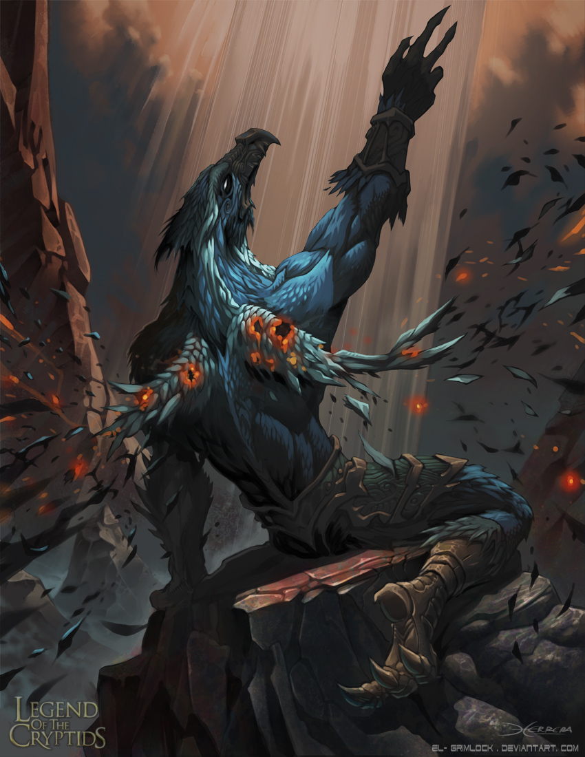 Sampati- The king of the birds by el-grimlock