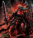 Crimson striker Advanced
