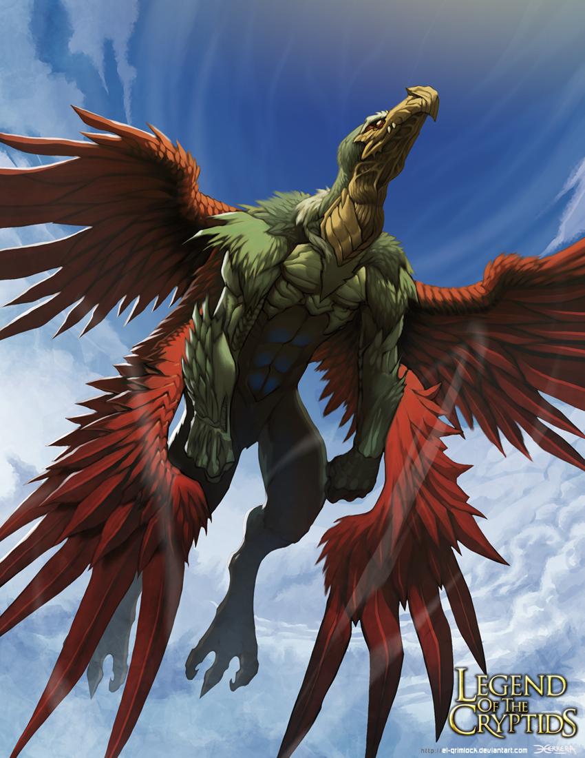 Sampati- The king of the birds 2 by el-grimlock