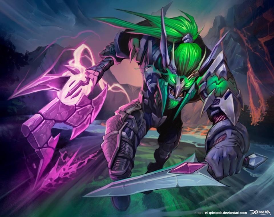 Warcraft Night Elf Rogue By El Grimlock On Deviantart