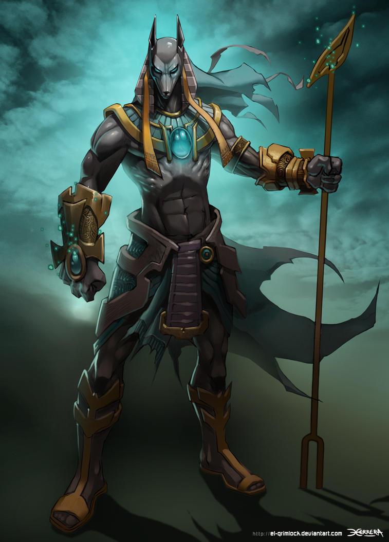 gods that counter anubis