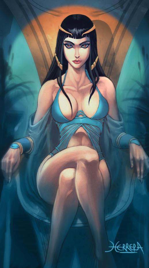 Cleopatra by el-grimlock