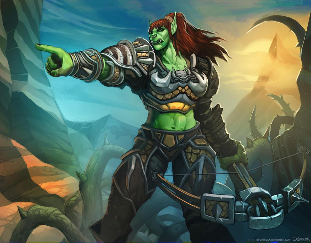 Warcraft: Orc Hunter. by el-grimlock