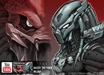 Predator conceptart. Video by el-grimlock