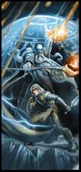 Merlin y Kyle by el-grimlock