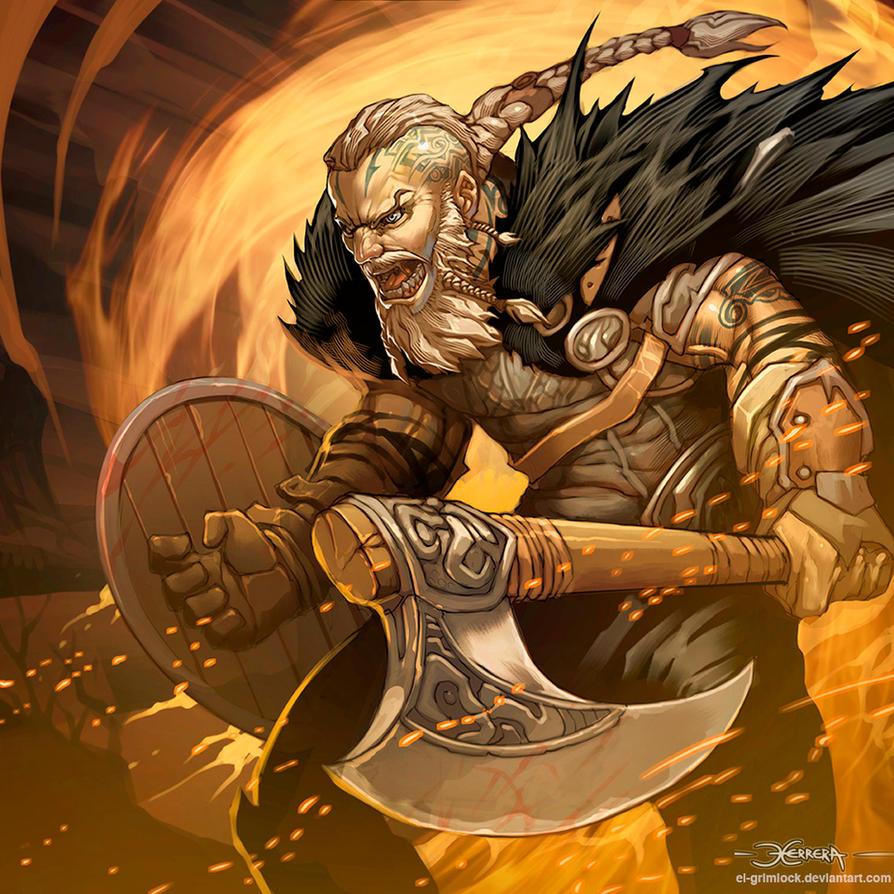 Ragnar Lothbrok by el-grimlock