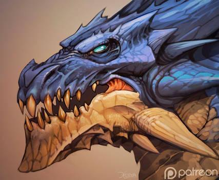 Dragon-head