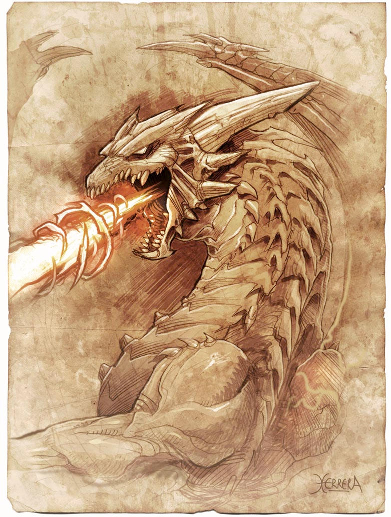 Dragones prehist  243 ricosEasy Fire Breathing Dragon Drawings