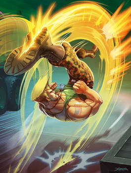 Guile - Street  Fighter.