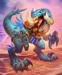 Raptor : HearthStone by el-grimlock