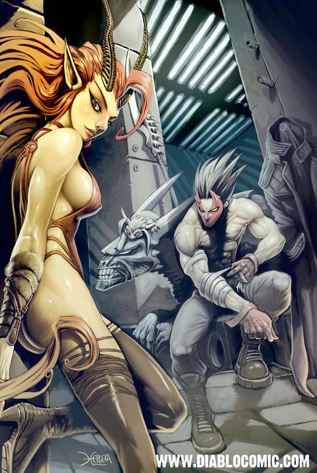 Galeria de Arte: Ficção & Fantasia 1 - Página 2 Diablo_cenit_by_el_grimlock
