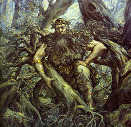 Woold, The God of the Wild Forest by GodWoold
