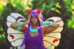 Tropical Butterfree - Pokemon Gijinka Cosplay