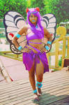 Tropical Butterfree - Pokemon Cosplay
