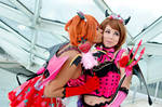 Rin and Hanayo - Little Devil - LoveLive! Cosplay