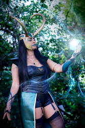 Lady Loki Cosplay by mirella91