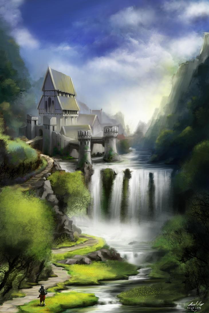 Dawnguard Fortress by Celarx