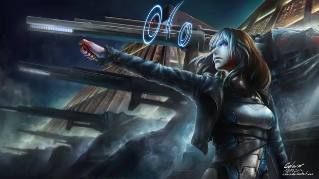 Cyberpunk - The Line
