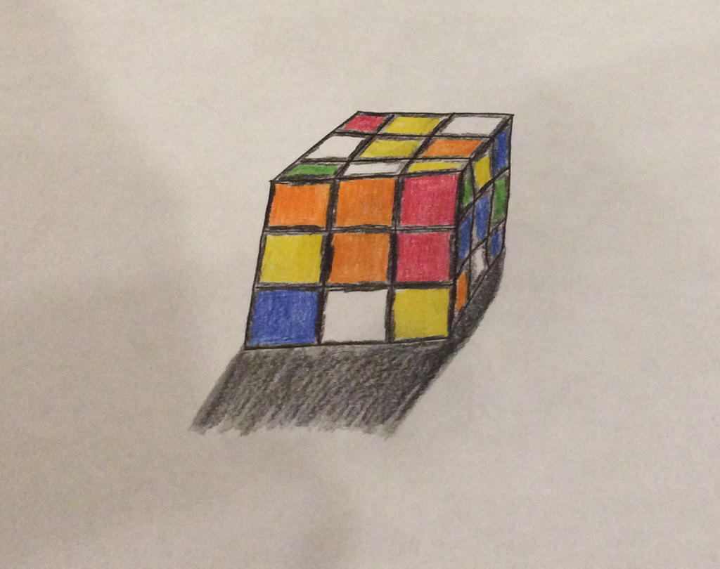 Rubik Cube by ace-of-spades3220