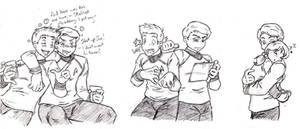 Jim and Bones Doodles