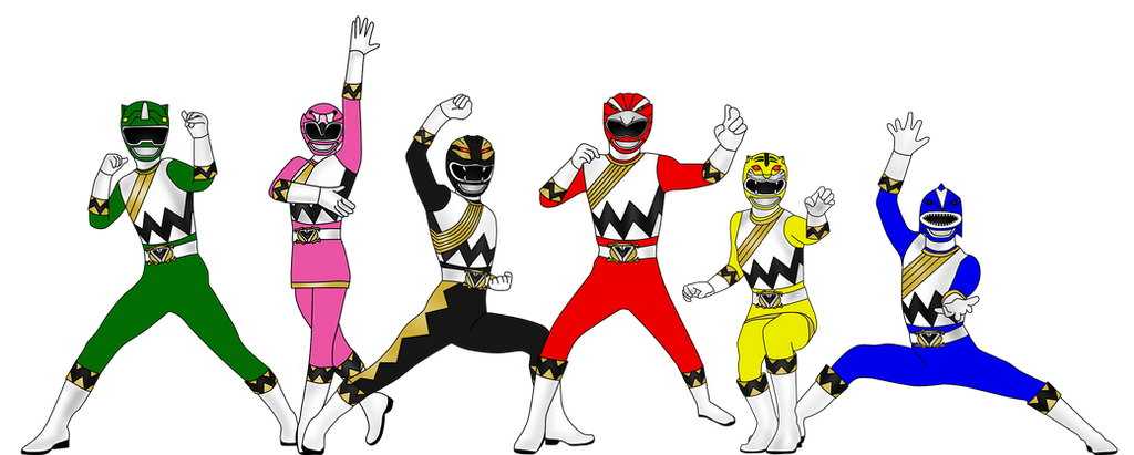 Power Rangers Wild Avengers for DerpMP6 by Iyuuga on