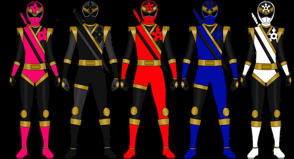Shuriken Rangers By Iyuuga On Deviantart