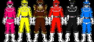 Dino Spark Rangers