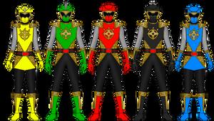 Dino Ninja Rangers