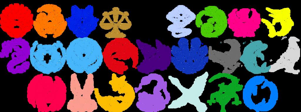 Kyuranger Kyutama Symbols by Iyuuga