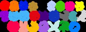 Kyuranger Kyutama Symbols