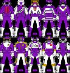 Violet/Purple Ranger/Gokai Keys: Part 1 by Iyuuga